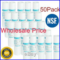 0.5Micron 10 x 2.5Grooved Sediment Water Filter Cartridge Whole House Sediment