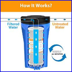 16 Pack 4.5x10 Big Blue Coconut Shell CTO Carbon Block Water Filter Whole House