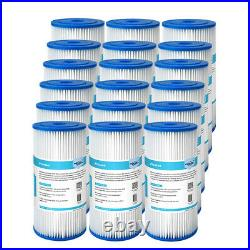 18PCS 10x4.5 Whole House Swimming Pool Washable Sediment Pleated Water Filter