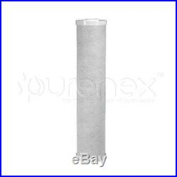 (1) BIG BLUE 20 x 4.5 WHOLE HOUSE 5µm COCONUT SHELL CARBON BLOCK WATER FILTER