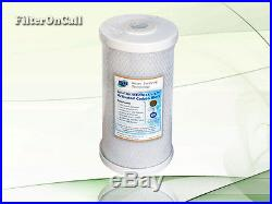 1 BIG BLUE WATER FILTER CARBON BLOCK 4.5 X 10 Whole House RO