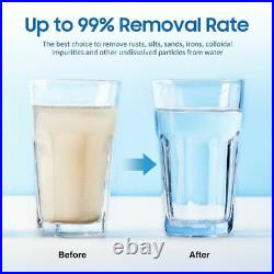 1 Micron 20x4.5 Big Blue Sediment Water Filter Replacement Whole House 1-16PK