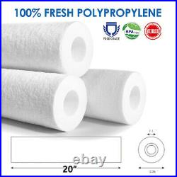 20x2.5 20 Micron Fine Sediment Water Filter Whole House RO Replacement 50 Pack
