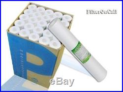 (25)-20 x 2.5 Sediment Water Filters/Whole House/RO NSF Certified 5 micron