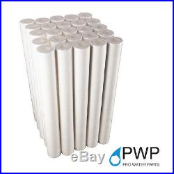 25 Pack Sediment Water Filter Cartridge Spun Poly RO Whole House 20Micron 20x2.5