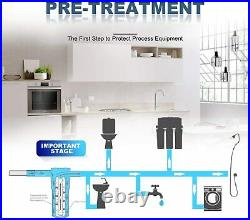 2 Stage 20 Big Blue Water Filters for Whole House Reverse Osmosis Water System
