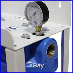 2 Stage Whole House High Flow Water Filter Dechlorinator Chlorine Removal 1 BB