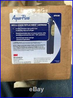 3M Aqua-Pure Whole House Sanitary Quick Change Replacement Water Filter