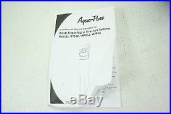 3M Aqua-Pure Whole House Sanitary Quick Change Water Filter Unit System AP904