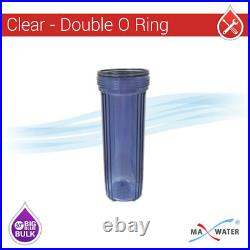 3-Stage 20 Whole House BB Slow Phos Anti Scale Water Filter prevent Lime Scale