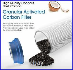 3 Stage Big Blue 20 Whole House System +Carbon Block+Sediment +Water Pre Filter