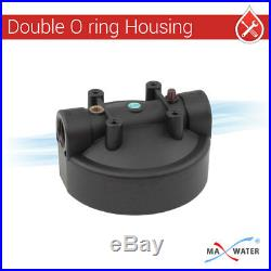 4 Pack- 20 x 4.5 Big Blue BB Whole House Water Filter Housing pressure release