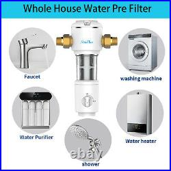 4-Stage Whole House Water Filter Chlorine Removes Health Skin Care for All