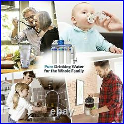 5 Stage Reverse Osmosis Water Filtration System Whole House RO Water Purifier