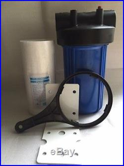 6-Big Blue Whole House 4.5 x 10 Water Filter System & 5 Micron Sediment Filter
