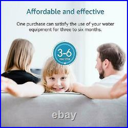 6 PACK 5 Micron 20x4.5 CTO Carbon Block Water Filter Whole House RO Cartridges