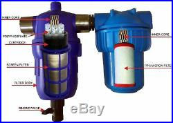 9home / whole house Water filter & conditioner&descaler& iron removal