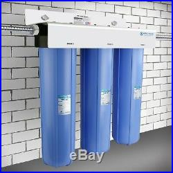 APEC 3 Stage Whole House Water Filter Sediment, GAC Carbon and Carbon Block