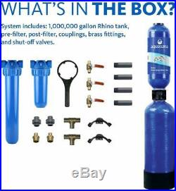 Aquasana 10-Year 1000000 Gallon Whole House Water Filter with Prof. Install Kit