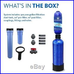 Aquasana Blue Rhino Series 3-Stage 300k Gal Whole House Water Filtration System