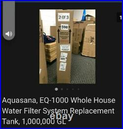Aquasana, EQ-1000 Whole House Water Filter System Replacement Tank, 1,000,000 GL