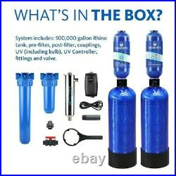 Aquasana EQ-WELL-UV-PRO-AST Whole House Water Filter System withUV Purifier