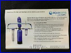 Aquasana Salt-Free Water Conditioner and Whole House Water Filter for Home
