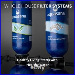 Aquasana Whole House Filter System Withsalt- Free, carbon, and UV 1,000.000 Gal