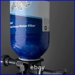 Aquasana Whole House Water Filter 300,000 gal. 4-Stage Filter/Hardware Included