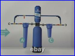 Aquasana Whole House Water Filter System with Salt-Free Conditioner