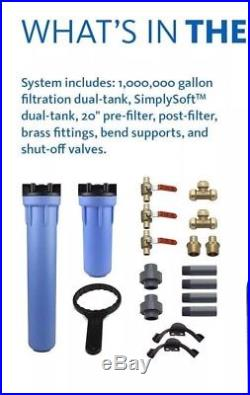 Austin Springs by Aquasana 10-Year 1 Mil Whole House Water Filtration + Softener