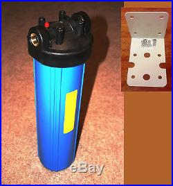 Big Blue 20 Whole House Water Filter System (1 inch Port) with Mounting Bracket