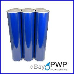 Big Blue 20x4.5 Whole House GAC Granular Coconut Shell Carbon Water Filter 50Mic