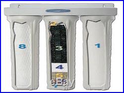 CRYSTAL QUEST WATER FILTER REPLACEMENT SET TRIPLE 20 WHOLE HOUSE WATER SYSTEM