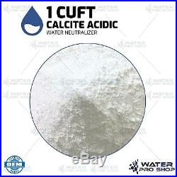 Calcite Neutralizer Acidic water raise the pH in water 1 Cubic Foot (ALKALINE)