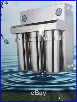 Commercial RO Reverse Osmosis Drinking Water Filter System 400 GPD GGN-SSRO-215