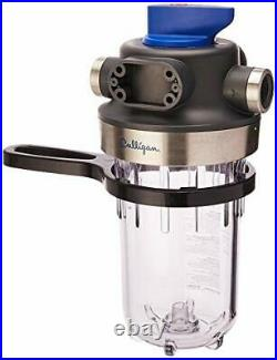 Culligan WH-HD200-C Whole House Heavy Duty 1 Inlet/Outlet Filtration System