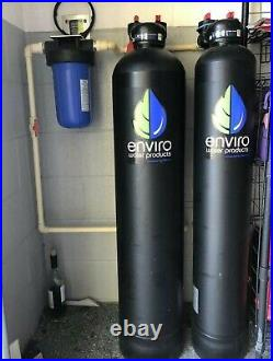 Enviro whole house Water solutions filter Softener conditioner carbon pro series