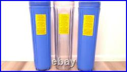 Express Whole Home House Heavy Metal Filter 3 Stage Water Filtration System READ