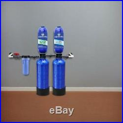 Filter 5 Stage 600000Gallon Whole House Water Filtration System with Softener