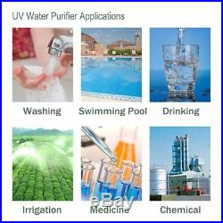 HQUA-OWS-6 Ultraviolet Water Purifier Sterilizer Filter for Whole House Water