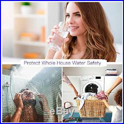 HQUA-OWS-6 Ultraviolet Water Purifier Sterilizer Filter for Whole House Water +