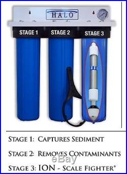 Halo Mini Series 3 Whole House Water Filter Purifier Conditioner 3 Stage