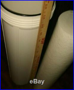 Home Master Whole House 3-Stage Water Filter replacement 1 Filter & 1 Canister