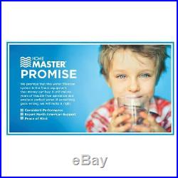 Home master whole house three stage, fine sediment, iron and carbon water filt