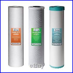 ISpring F3WGB32BM Replacement Filter Pack for 3 Stage 20 Inch Whole House Water