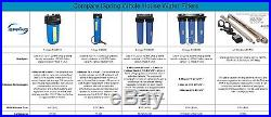 ISpring FC25BX2 NSF Certified 4.5 x 20 Big Blue Whole House Water Filter CTO