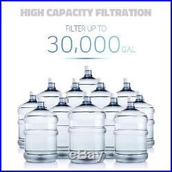 ISpring WCB32O 3-Stage 20 Whole House Water Filter With 3/4 inch NPT Carbon