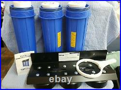 ISpring WGB32B 3-stage Whole House Water Filtration System With20-inch Big Blue