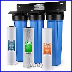 ISpring WGB32B-PB 3-Stage Whole House Water Filter System